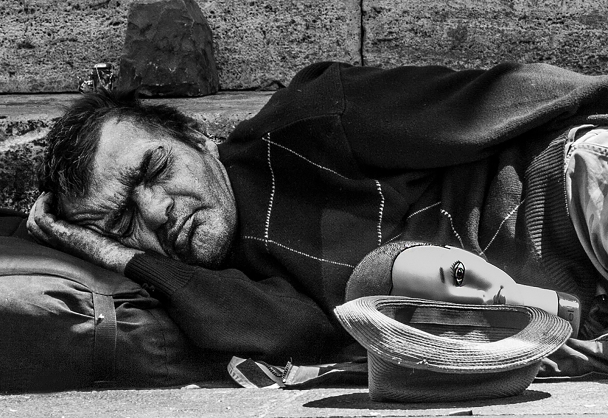 'Homless In Rome' by Jamie Sheehy