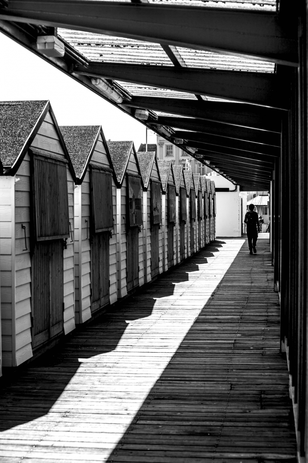 'Beach Huts' by Jamie Sheehy