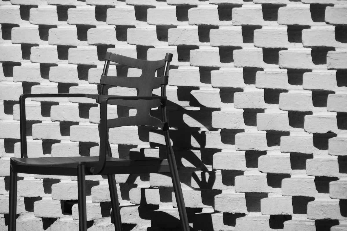 'Chair and Shadow' by Teresa Chlapowski